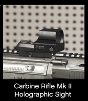 Carbine Rifle Mk II Holographic Sight
