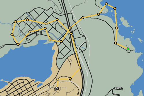 Crop Circle GTAO Race Map