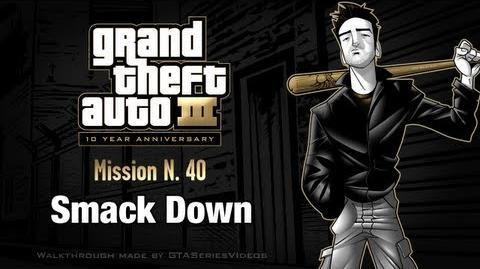 GTA 3 - iPad Walkthrough - Mission 40 - Smack Down