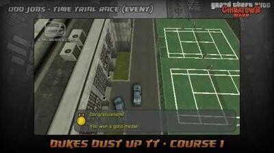 GTA Chinatown Wars - Walkthrough - Time Trial Race - Dukes Dust Up TT - Course 1