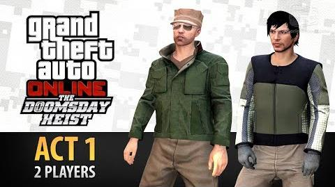 GTA Online Doomsday Heist Act 1 with 2 Players (Elite & Criminal Mastermind II)
