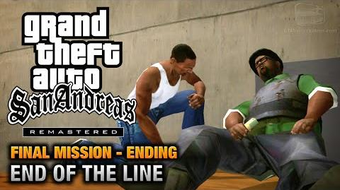 GTA San Andreas Remastered - Ending Final Mission - End Of The Line (Xbox 360 PS3)