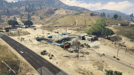 Harmony Truck Stop GTAV Overview