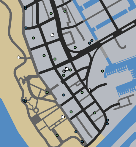 Vespucci Beach LTS GTAO Map