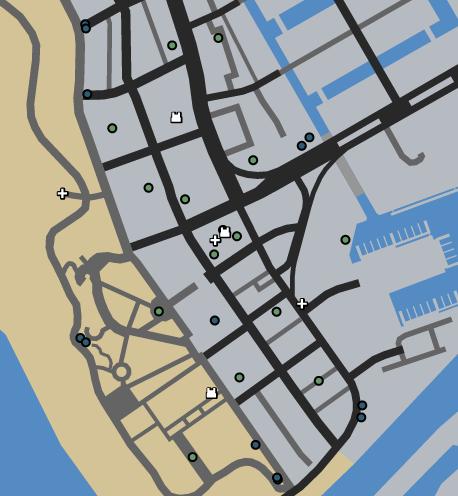 Vespucci Beach LTS GTAO Map