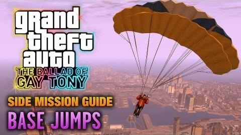 GTA The Ballad of Gay Tony - BASE Jumps Gone Down Achievement Trophy (1080p)