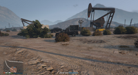 Vehicle Import Photo Shoot GTAO Grand Senora Desert
