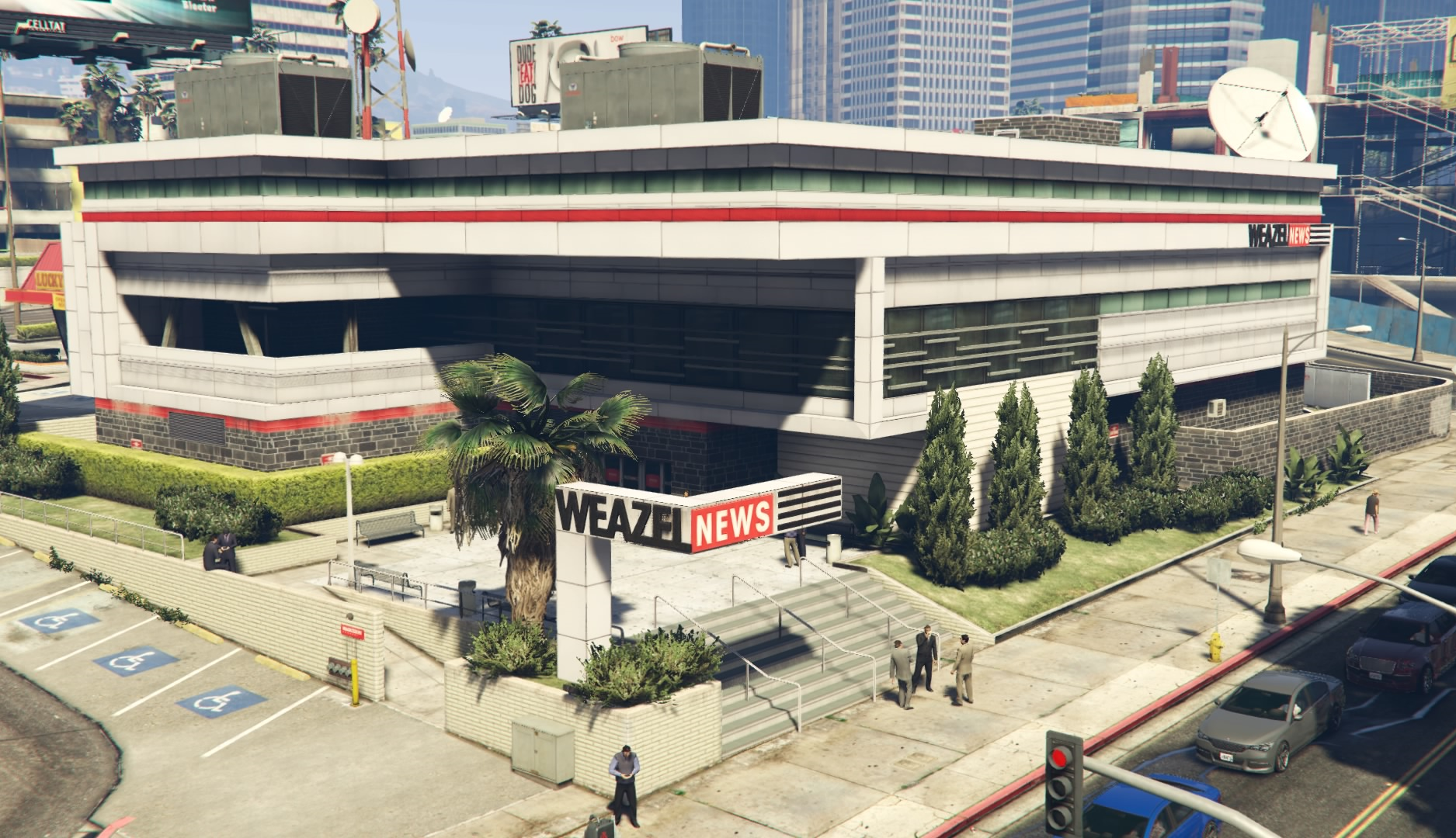 Weazel News Building | GTA Wiki | FANDOM powered by Wikia