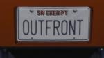 Custom Plate GTAO 0UTFR0NT