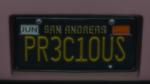 Custom Plate GTAO PR3C10US