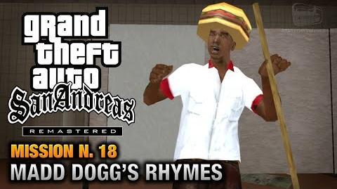 GTA San Andreas Remastered - Mission 18 - Madd Dogg's Rhymes (Xbox 360 PS3)
