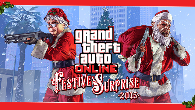 Gta 5 Online Christmas Masks.Festive Surprise 2015 Gta Wiki Fandom Powered By Wikia