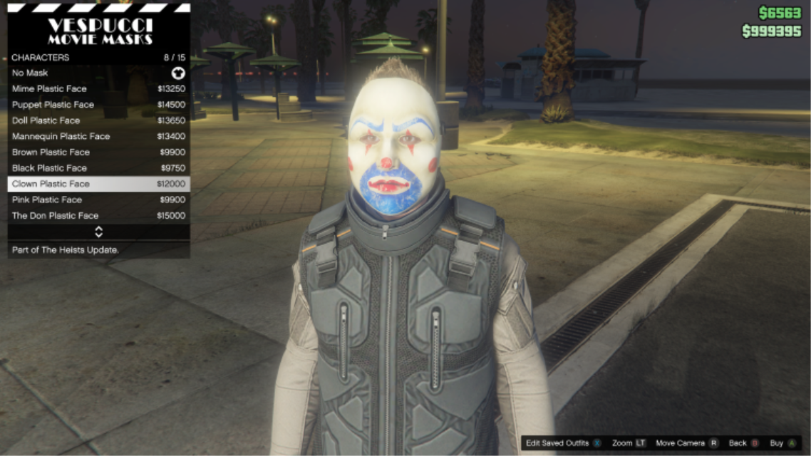 Image gtao character clown plastic face maskg gta wiki gtao character clown plastic face maskg voltagebd Image collections