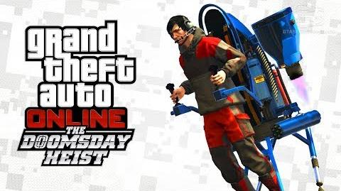 GTA Online - Jetpack Mammoth Thruster The Doomsday Heist