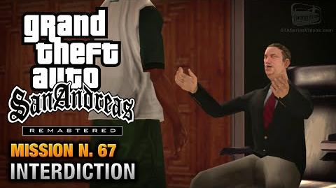 GTA San Andreas Remastered - Mission 67 - Interdiction (Xbox 360 PS3)
