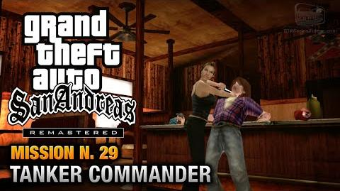 GTA San Andreas Remastered - Mission 29 - First Date Tanker Commander (Xbox 360 PS3)