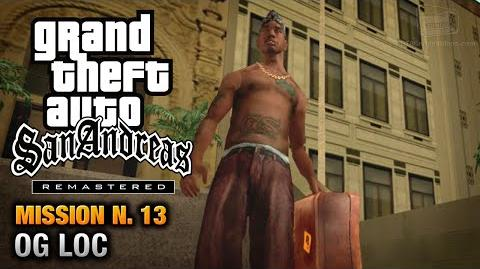 GTA San Andreas Remastered - Mission 13 - OG Loc (Xbox 360 PS3)