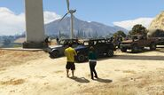 Offroad Race RON Alternates Wind Farm GTAV Start Point
