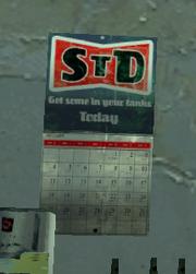 STD calendar