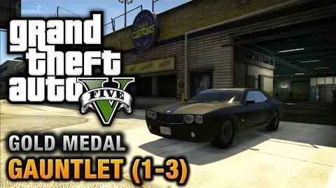 GTA 5 - Mission 74 - Gauntlet (1-3) 100% Gold Medal Walkthrough