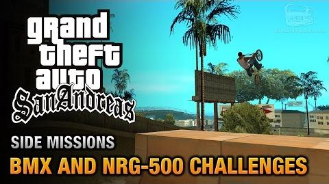 GTA San Andreas - BMX and NRG-500 Challenges Bike or Biker? Trophy Achievement