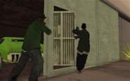 The Green Sabre GTA San Andreas (Big Smoke and Ryder)