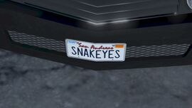 Gauntlet-custom-licence-plate-GTA V