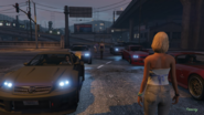 Freeway GTAV Street Race Grid