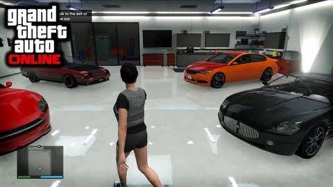 GTA Online - Apartments, Garages, Cars and More