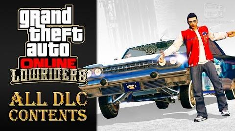 GTA Online Lowriders Update All DLC Contents
