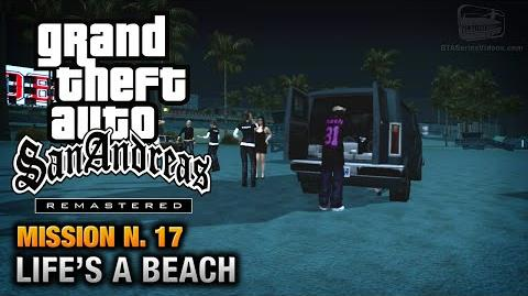 GTA San Andreas Remastered - Mission 17 - Life's a Beach (Xbox 360 PS3)