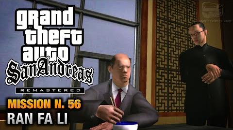 GTA San Andreas Remastered - Mission 56 - Ran Fa Li (Xbox 360 PS3)