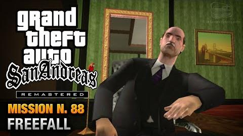 GTA San Andreas Remastered - Mission 88 - Freefall (Xbox 360 PS3)
