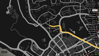 Vehicle Export Specialist GTAO Americano Way Map