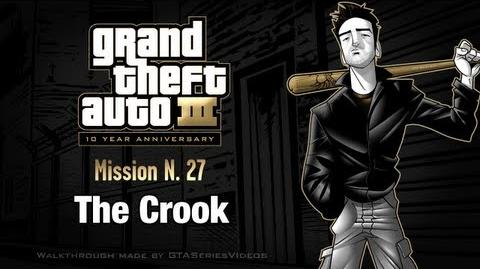 GTA 3 - iPad Walkthrough - Mission 27 - The Crook