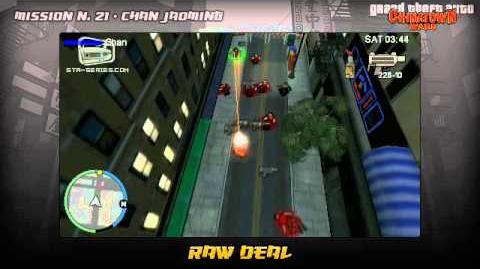 GTA Chinatown Wars - Walkthrough - Mission 21 - Raw Deal