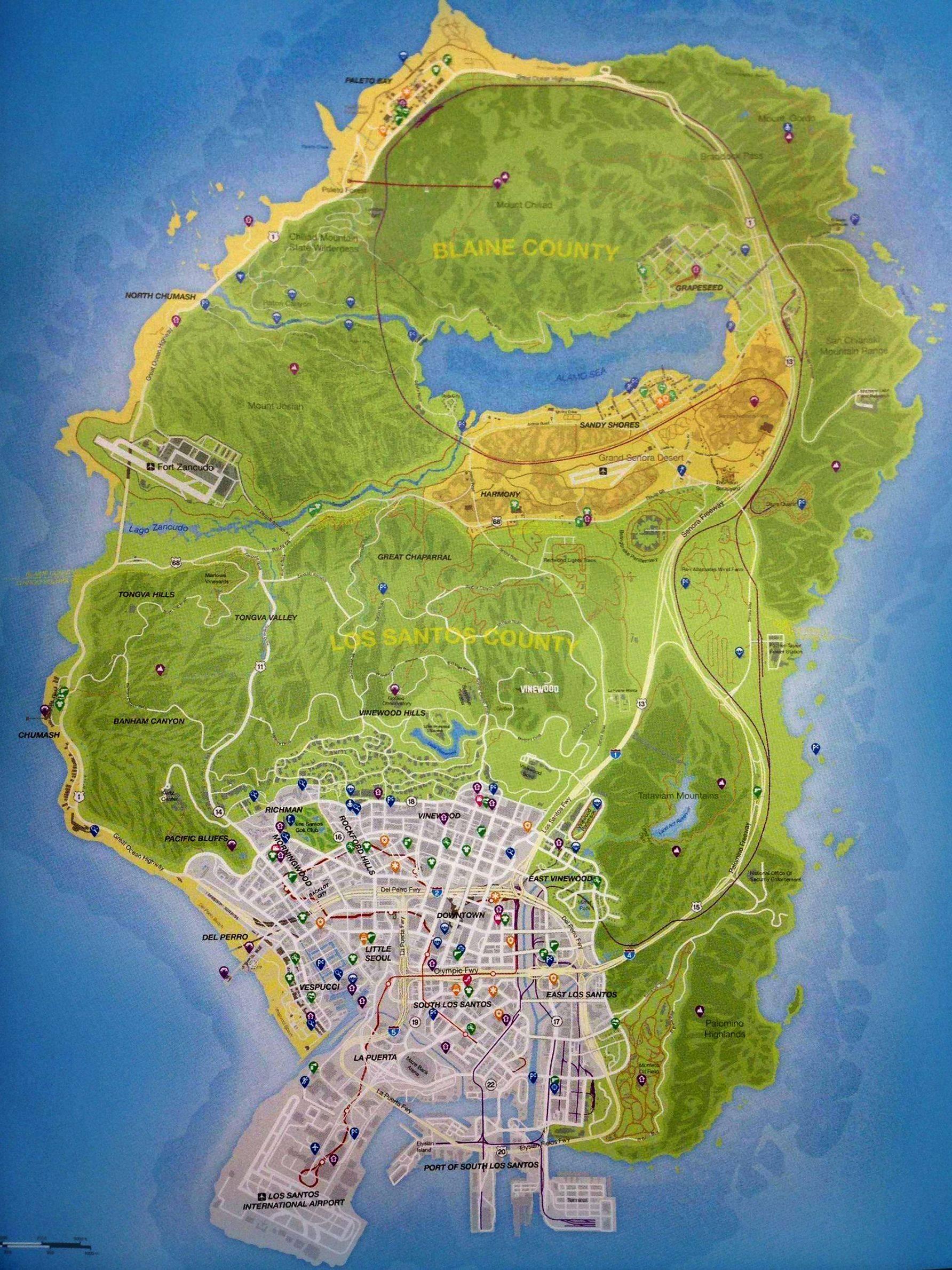mapa gta 5 User blog:DeltaWolf247/GTA V Map Confirmed | GTA Wiki | FANDOM  mapa gta 5