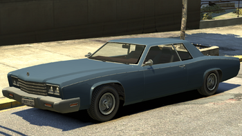 A Second Generation Bucanneer In Grand Theft Auto IV.