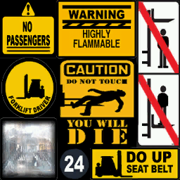 Forklift-GTAIV-Stickers