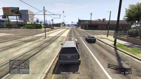 GTA5 Online - Lester Crest Mission, Denial of Service