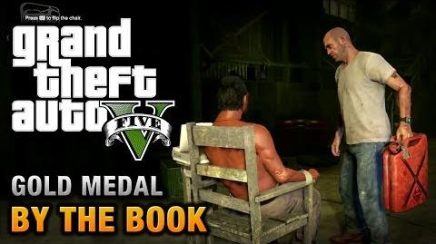 GTA 5 - Mission 25 - By the Book 100% Gold Medal Walkthrough