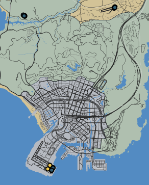Wingmen GTA GTAO Map