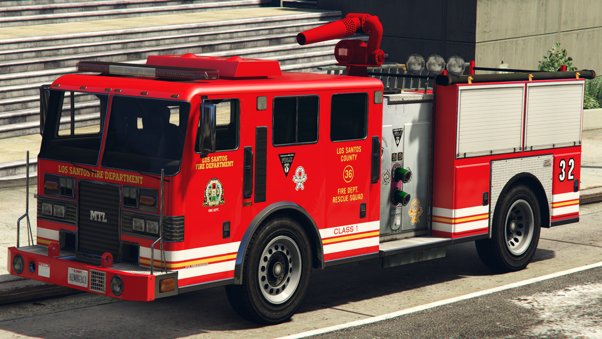 Fire Truck Gta Wiki Fandom Powered By Wikia
