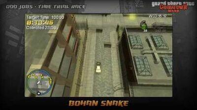 GTA Chinatown Wars - Walkthrough - Time Trial Race - Bohan Snake