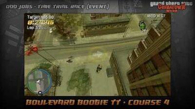 GTA Chinatown Wars - Walkthrough - Time Trial Race - Boulevard Boogie TT - Course 4
