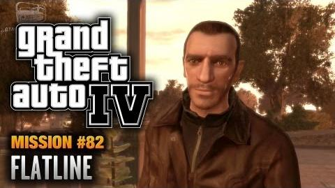 GTA 4 - Mission 82 - Flatline (1080p)
