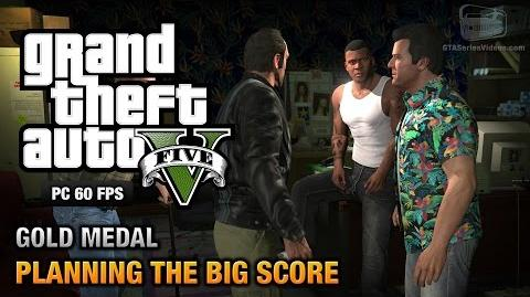 GTA 5 PC - Mission 76 - Planning the Big Score (Obvious) Gold Medal Guide - 1080p 60fps