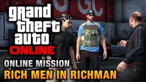 GTA Online - Mission - Rich Men in Richman Hard Difficulty