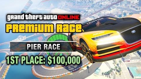 GTA Online - Premium Race 28 - Pier Race (Cunning Stunts)
