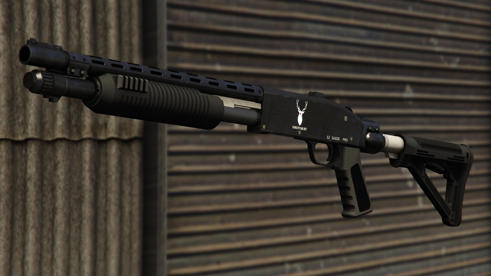 Pump Shotgun | GTA Wiki | FANDOM powered by Wikia